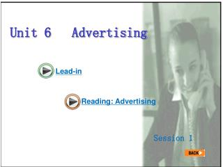 Unit 6   Advertising