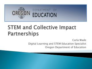 STEM and Collective Impact Partnerships