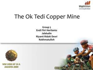 The Ok Tedi Copper Mine