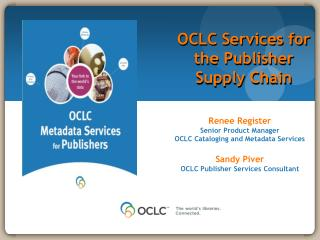 OCLC Services for the Publisher Supply Chain