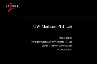 UW-Madison PKI Lab