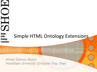 Simple HTML Ontology Extensions