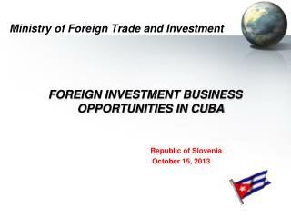 Ministry of Foreign Trade and Investment