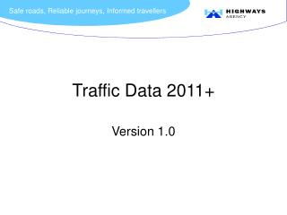 Traffic Data 2011+