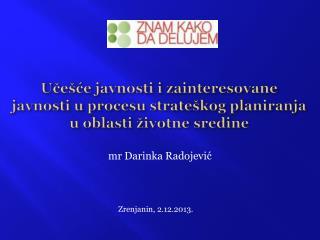 mr Darinka Radojević