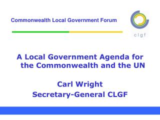 Commonwealth Local Government Forum