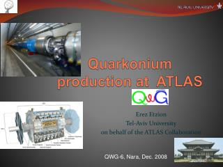 Quarkonium  production at  ATLAS