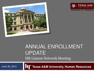 Annual Enrollment Update HR Liaison Network Meeting