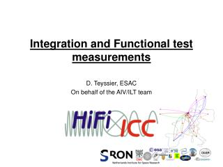 Integration and Functional test measurements
