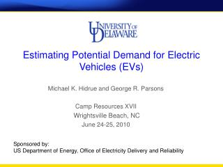 Estimating Potential Demand for Electric Vehicles (EVs)