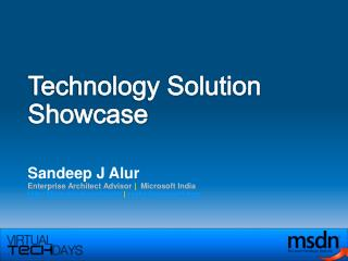 Technology Solution Showcase