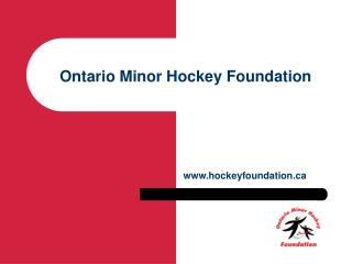 Ontario Minor Hockey Foundation