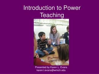Introduction to Power Teaching