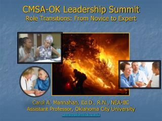 CMSA-OK Leadership Summit Role Transitions: From Novice to Expert