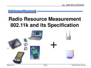 Radio Resource Measurement 802.11k and its Specification