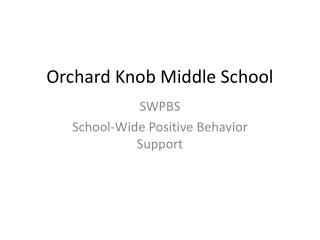 Orchard Knob Middle School