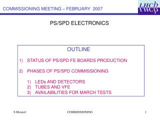 PS/SPD ELECTRONICS