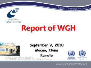 September 9, 2010 Macao,  China Kamoto