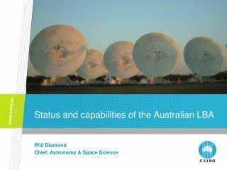Status and capabilities of the Australian LBA