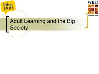 Adult Learning and the Big Society