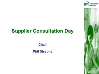 Supplier Consultation Day
