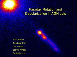 Faraday Rotation and Depolarization in AGN Jets