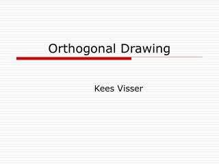 Orthogonal Drawing