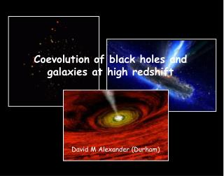 Coevolution of black holes and galaxies at high redshift