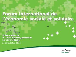 Forum international de l'économie sociale et solidaire