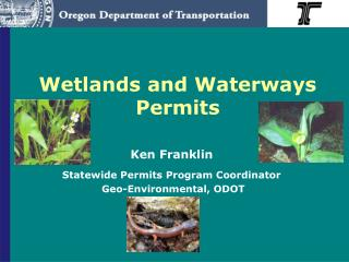 Wetlands and Waterways Permits
