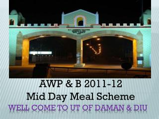 Well come to UT of Daman & Diu