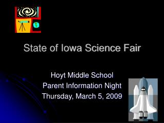 State of Iowa Science Fair