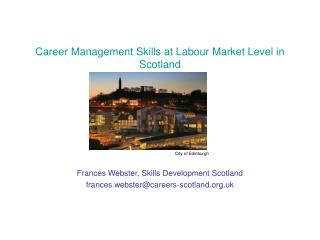Career Management Skills at Labour Market Level in Scotland