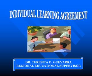 INDIVIDUAL LEARNING AGREEMENT