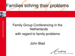Families solving their problems