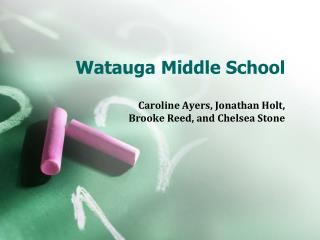 Watauga Middle School