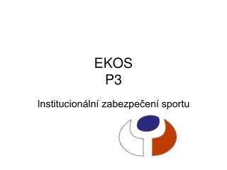 EKOS P3