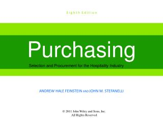 Technology Applications in Purchasing