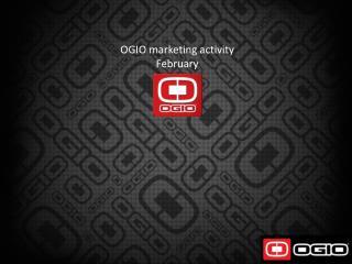 OGIO marketing activity February  2012