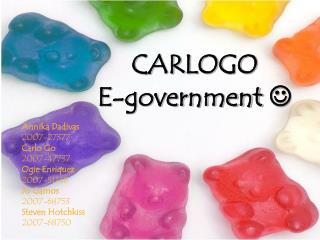 CARLOGO E-government  