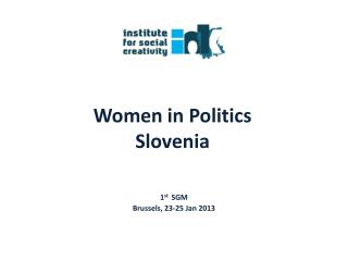 Women in Politics Slovenia