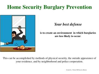 Home Security Burglary Prevention