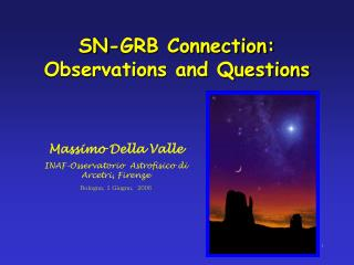 SN-GRB Connection: Observations and Questions