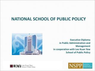 Executive Diploma  in Public Administration and Management