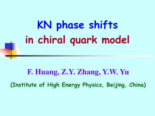 KN phase shifts  in chiral quark model