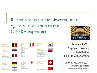 Recent results on the observation of  n m  -> n t  oscillation in the  OPERA experiment