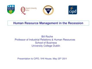 Human Resource Management in the Recession