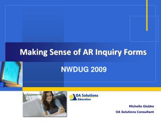Making Sense of AR Inquiry Forms