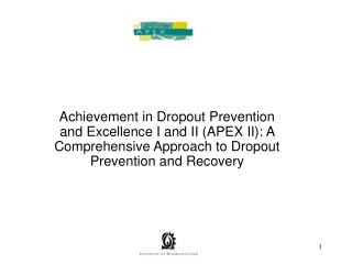 PBIS-NH and APEX