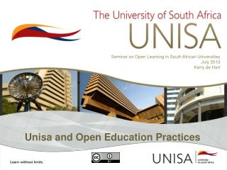 Unisa and Open Education Practices